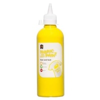 Fabric & Craft Paint Yellow 500mL