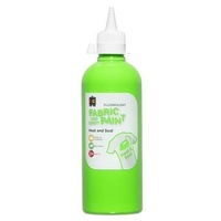 Fluorescent Craft Paint Green 500mL