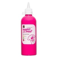 Fluorescent Craft Paint Pink 500mL