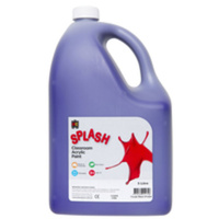 Splash Classroom Acrylic Paint Purple 5L
