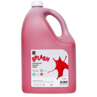 Splash Classroom Acrylic Paint Red 5L