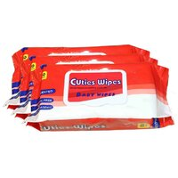 Cuties Wipes 12 x 80's