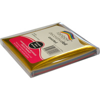 Rainbow Decorative Foil Square 125mm