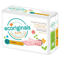 Ecoriginals Infant 5 - 9KG 32's