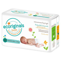 Ecoriginals Newborn Plus 4 - 6KG 32's