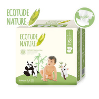 Ecotude Nappies Large 8 - 13 KG 30's