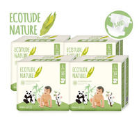 Ecotude Nappies Large 8 - 13 KG Carton 4 x 30's