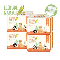 Ecotude Nappies Medium 5 - 9 KG Carton 4 x 34's