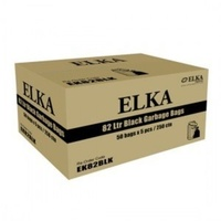 Garbage Bags 82L Black Ultra Heavy Duty Carton 250's