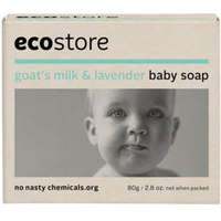 Ecostore Baby Soap with Goat's Milk & Lavender 80g