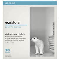 Ecostore Dishwasher Tablets Fragrance Free 600g