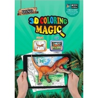 Augmented Reality 3D Colouring Books-Set of 4