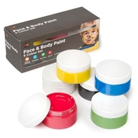 Face & Body Paint Set of 6 x 50mL
