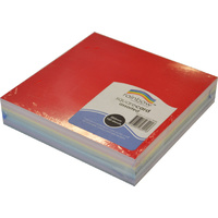 Rainbow Square Card 203mm 100 Sheets White