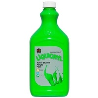 Fluorescent Liquicryl Junior Acrylic Paint Green 2L