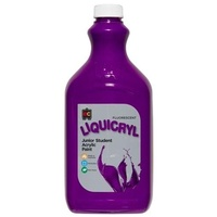 Fluorescent Liquicryl Junior Acrylic Paint Purple 2L