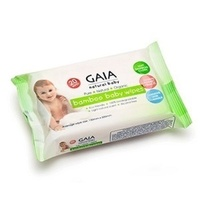 GAIA Bamboo Baby Wipes Travel Pack 20's