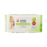 GAIA Bamboo Baby Wipes 80's