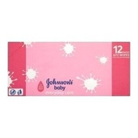 Johnson's Baby Wipes Everyday Care 12 x 56's