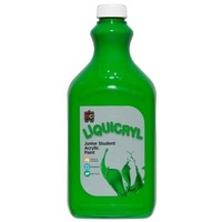 Liquicryl Junior Student Paint Leaf Green 2L