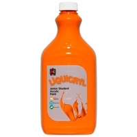Liquicryl Junior Student Paint Orange 2L