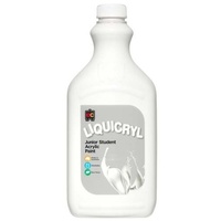 Liquicryl Junior Student Paint White 2L