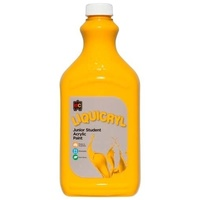 Liquicryl Junior Student Paint Warm Yellow 2L
