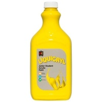Liquicryl Junior Student Paint Brilliant Yellow 2L
