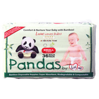 Luv Me Panda Nappies Small 3 - 8KG 36's
