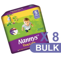 Nannys Junior Size 5 (12 - 25KG) Carton 192's