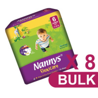 Nannys Junior Plus Size 6 (15 - 30KG) Carton 192's