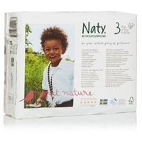 Naty By Nature Nappies 4 - 9 KG Size 3 31's