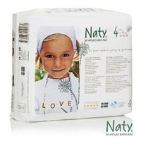 Naty by Nature Nappies 7 - 18KG Size 4 27's