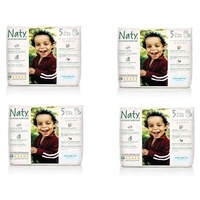 Naty by Nature Pull Up Pants 12 - 18KG Size 5 Carton 4 x 20's