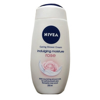Nivea Caring Shower Cream Indulging Moisture Rose 250mL