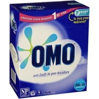 Omo Laundry Powder for Front & Top Loader 1kg