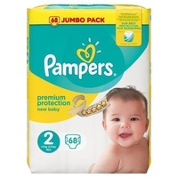 Pampers New Baby 3 - 6KG 68's Size 2