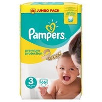 Pampers New Baby 5 - 9KG 66's Size 3