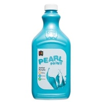Pearl Liquicryl Junior Acrylic Paint Blue 2L