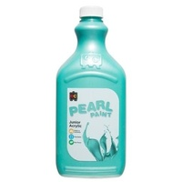 Pearl Liquicryl Junior Acrylic Paint Green 2L