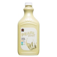Pearl Liquicryl Junior Acrylic Paint Yellow 2L