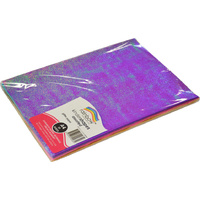 Rainbow Glitter Paper A4 50 Sheets