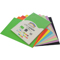 Rainbow Office Paper A3 80GSM 100 Sheets Assorted Colours