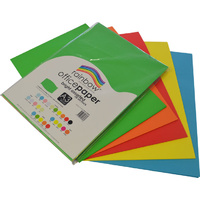 Rainbow Office Paper A3 80GSM 100 Sheets Bright Assorted Colours