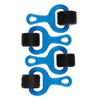 Rubber Pattern Rollers Set of 4