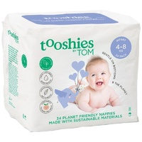 Tooshies By Tom Eco Nappies Infant 4 -8KG 34's