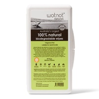 Wotnot Biodegradable Baby Wipes Travel Case 20's