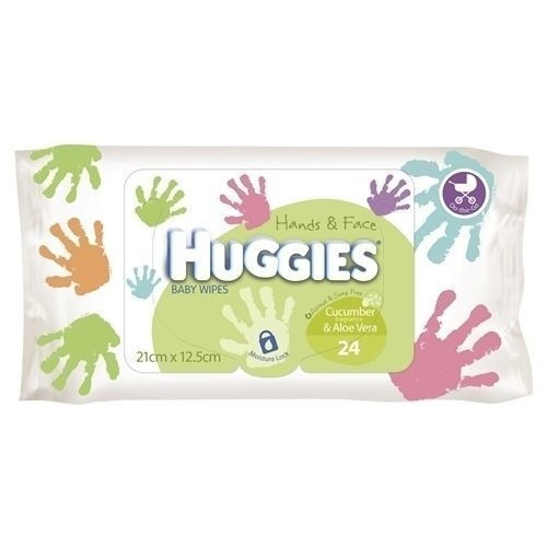 Huggies Wipes Hands & Face 24's