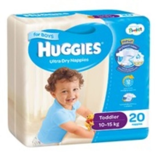 Huggies Toddler Boy 10 - 15KG 20's