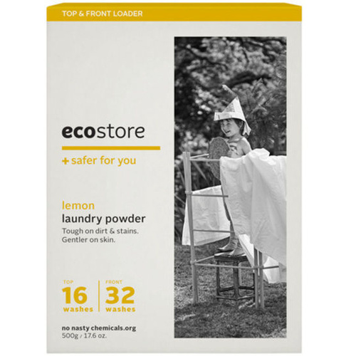 Ecostore Laundry Powder for Top & Front Loader Lemon 500g